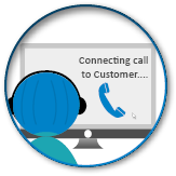 Remarketing - We send info to your staff to make a call