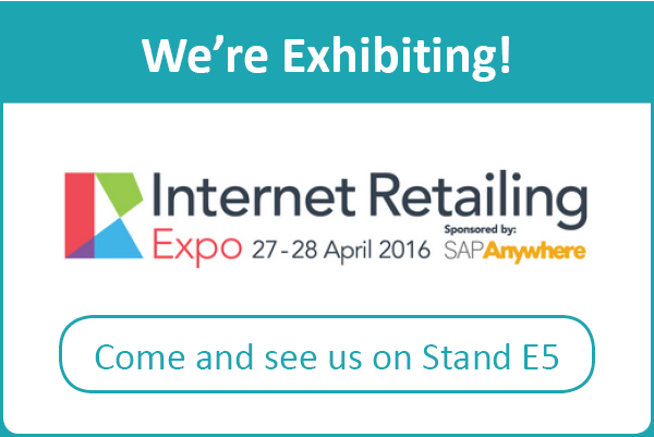 Internet Retailing Expo - We're Exhibiting!