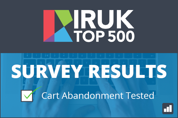 IRUK Survey Results - Cart Abandonment Tested
